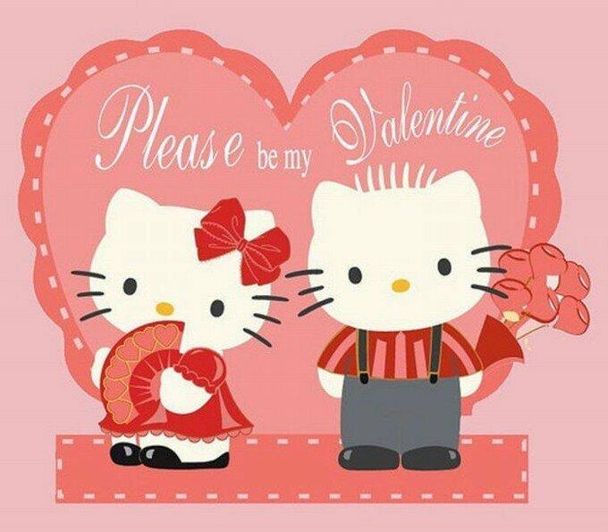 День святого валентина открытки на английском