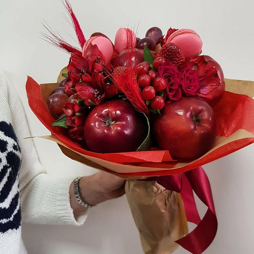 Необычные букеты на юбилей женщине, цветы где