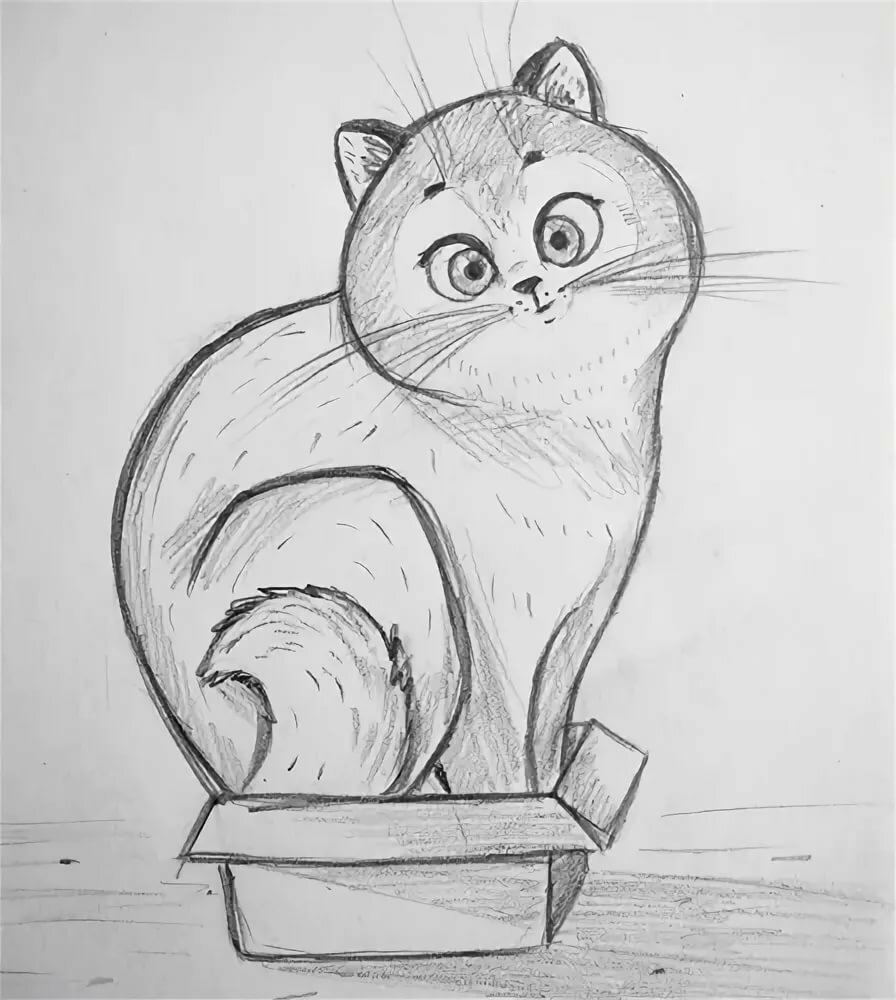 рисунки карандашом любые хорошие вот всё