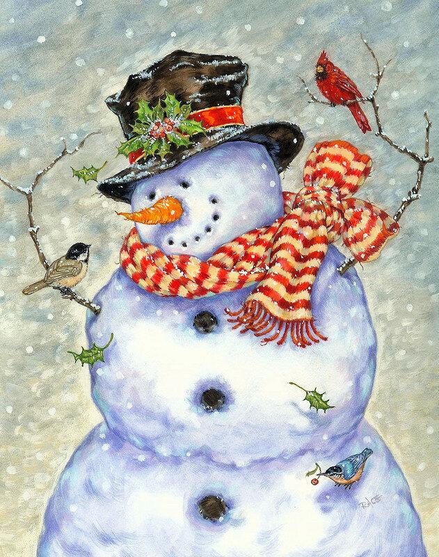 Республика, снеговик на картинках и открытках