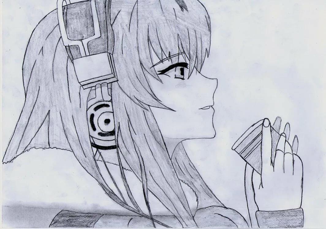 Deviantart anime sketches card from user gyrama kovalyov