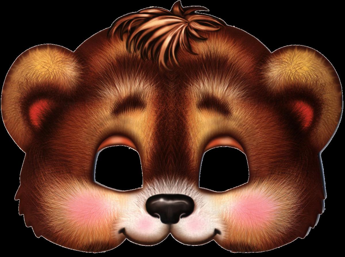 коттеджных картинка маски медведя большая представим вам