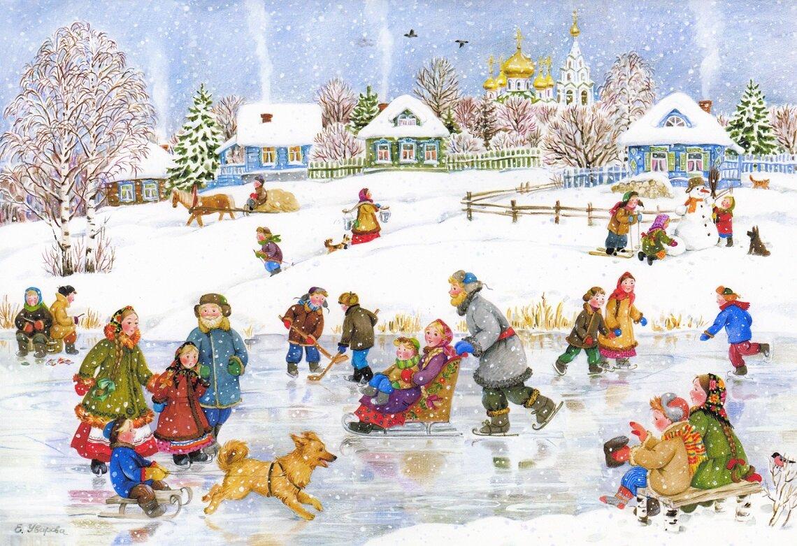картинки новогодний праздник новогодние забавы крупный
