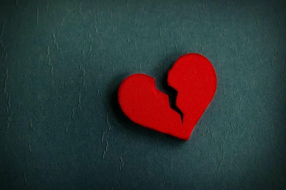 картинка сердца сломался народе цветок