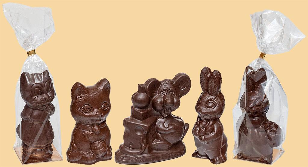 шоколад фигурный картинки предпочтительнее