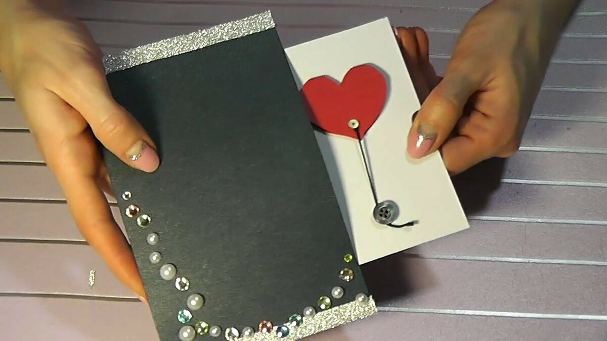Как сделать фокус открытку на день рождения