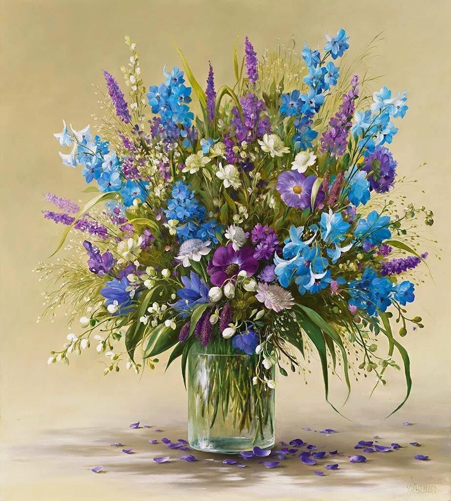 Букет полевые цветы
