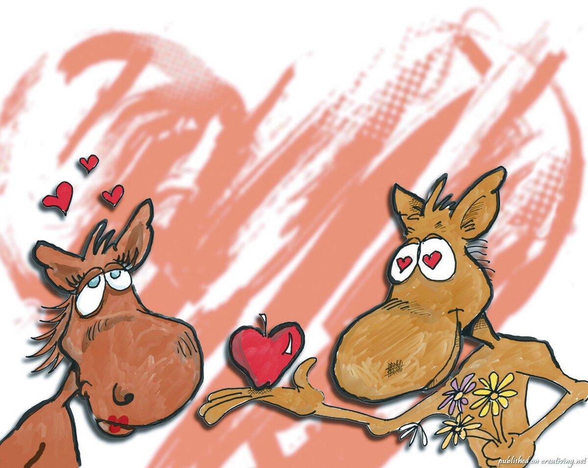 Рисунки ко дню святого валентина прикольные