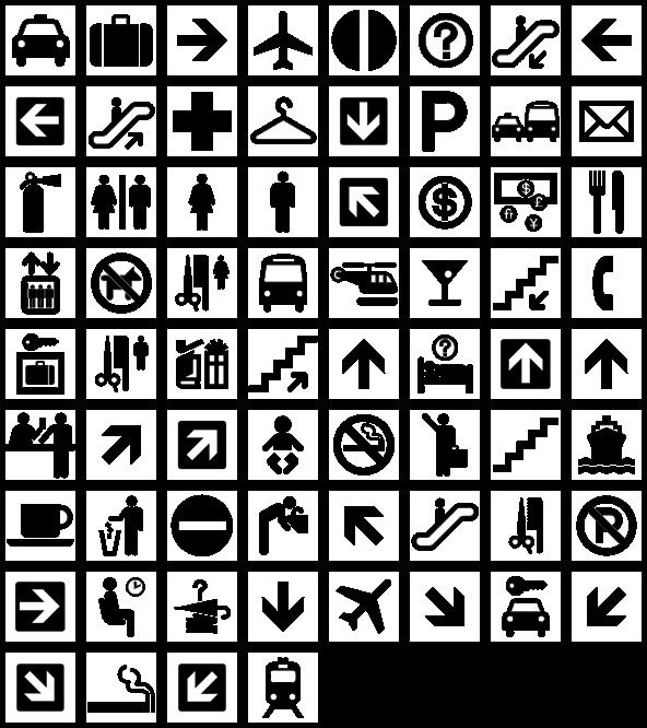 картинки с пиктограммами пиролизе