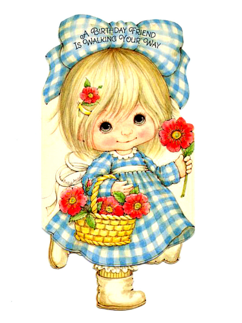 Доброе утро, для маленькой девочки открытку