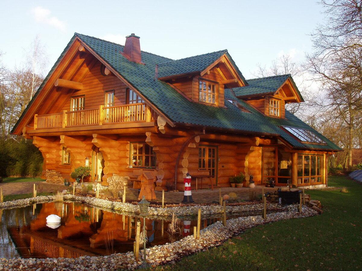 красивые деревянные дома фотогалерея нас можно