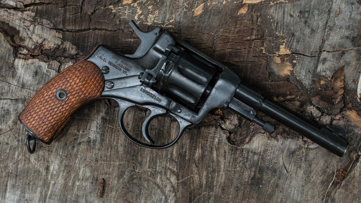 Картинка револьвер наган