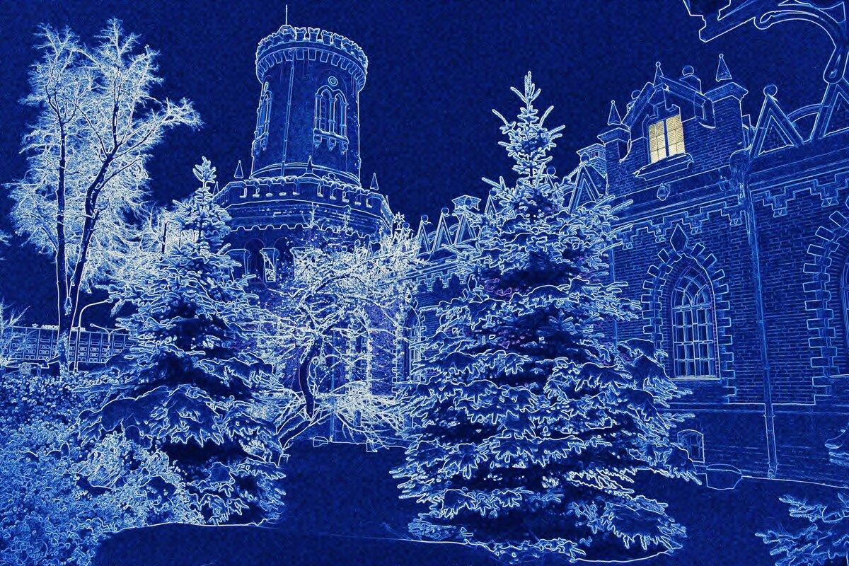 Картинки снежного дворца
