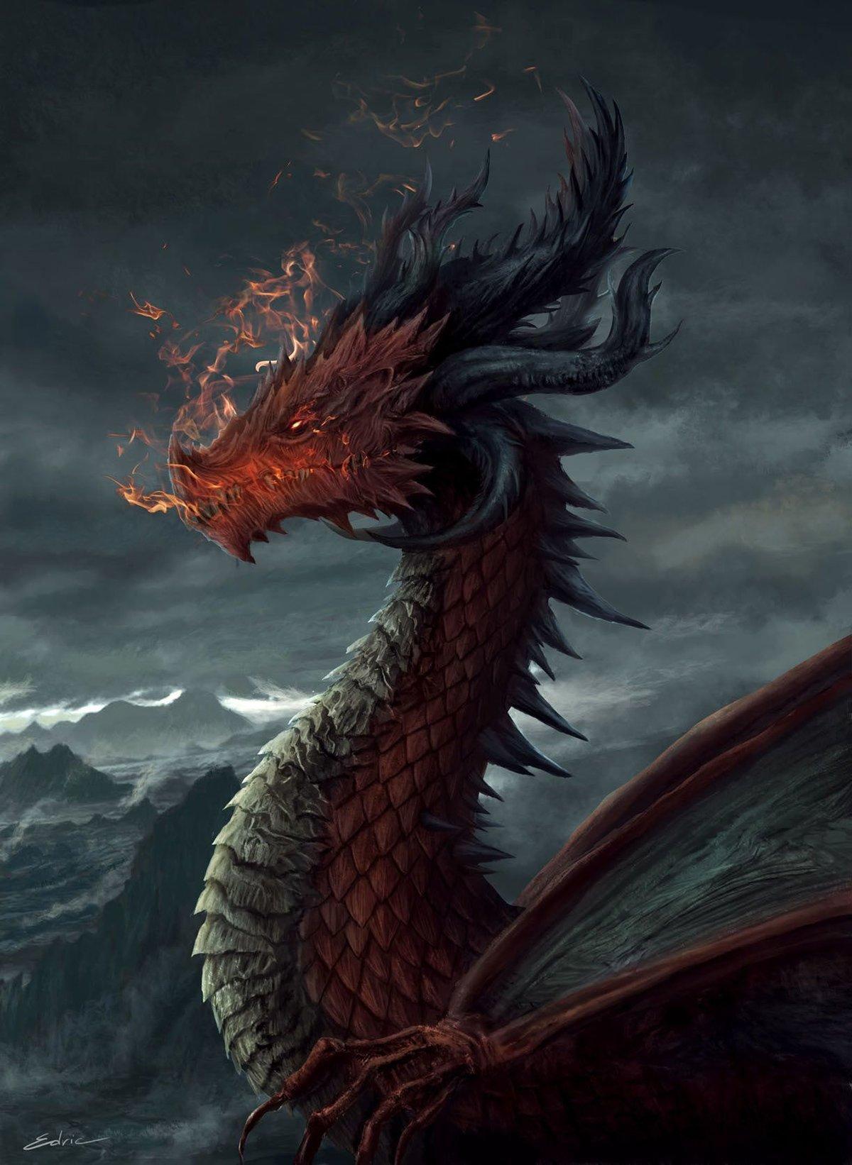 Прикольные картинки на аву дракон