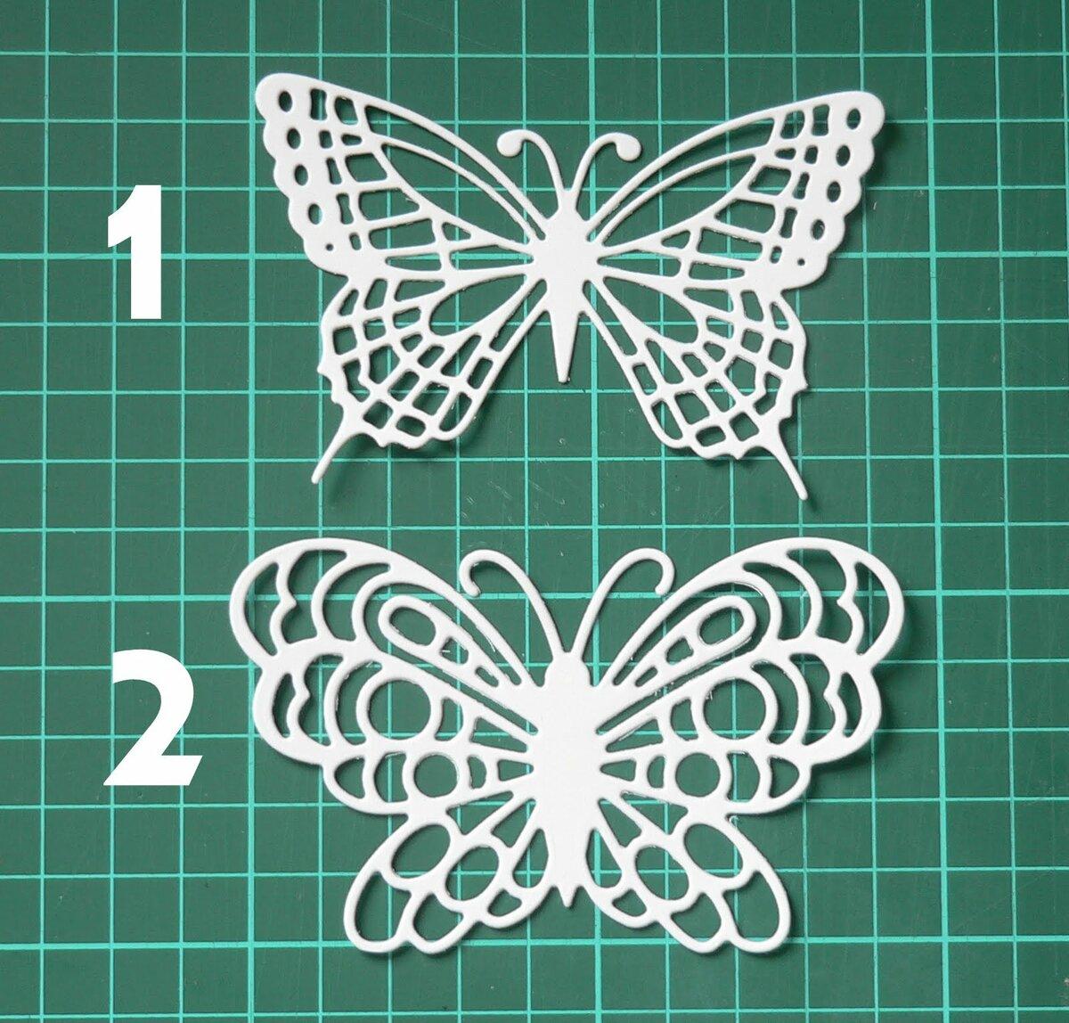 Николаем, резные открытки бабочки