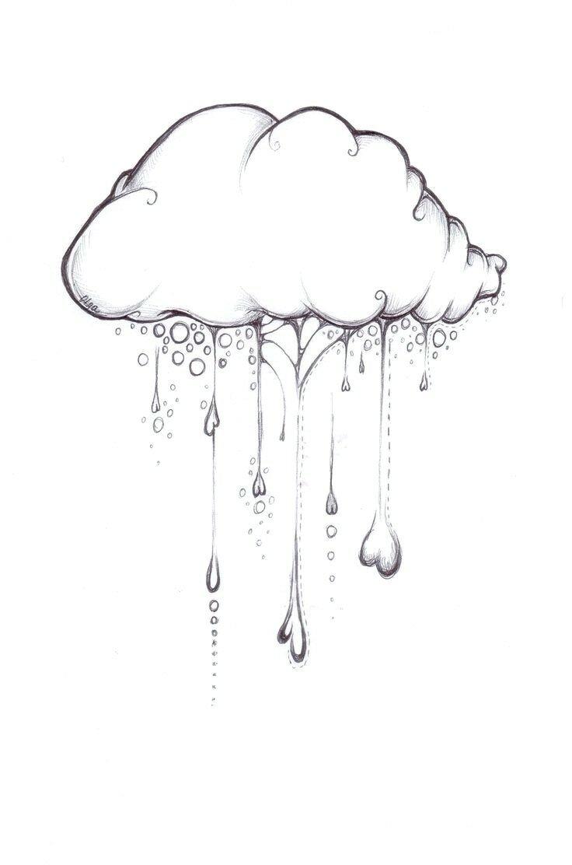 Облако картинки для срисовки