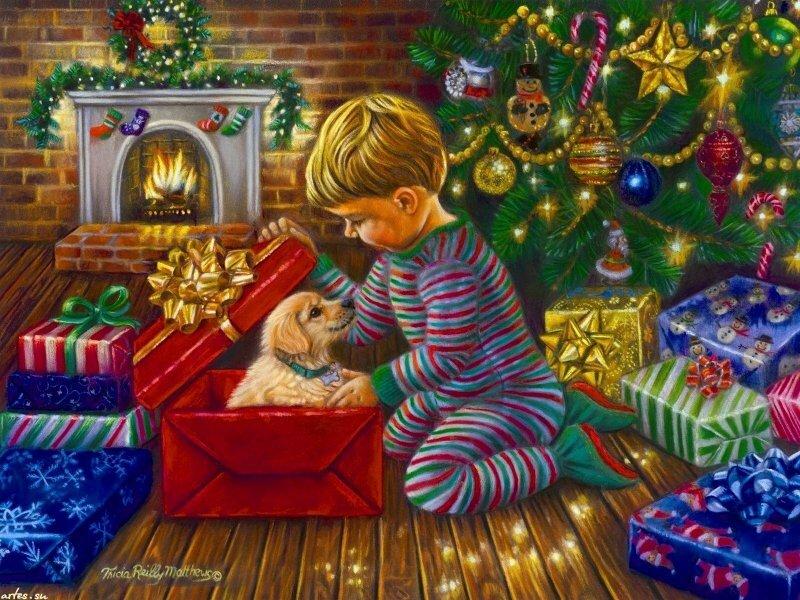 Рождественские картинки детям, картинки