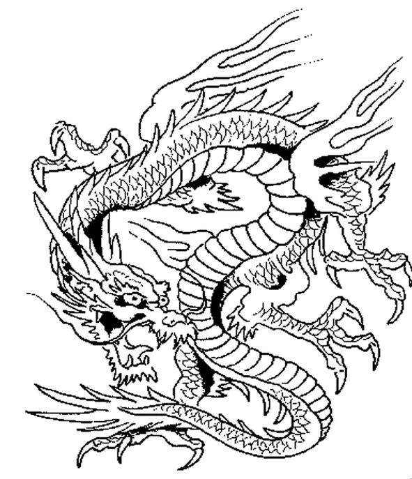 «Сложная раскраска для мальчиков дракон» — карточка ...