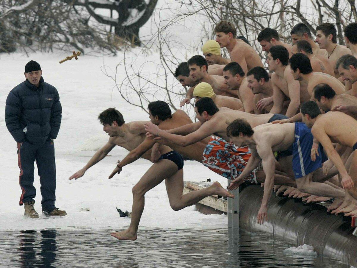 Прикольные картинки с купанием на крещение, прикольные