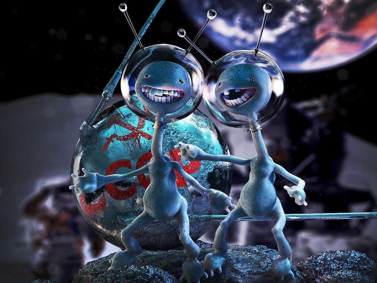 Поздравляем, картинки пришельцев смешные