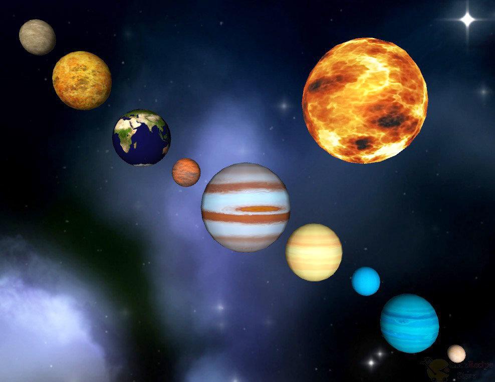 solar system planets - 988×763