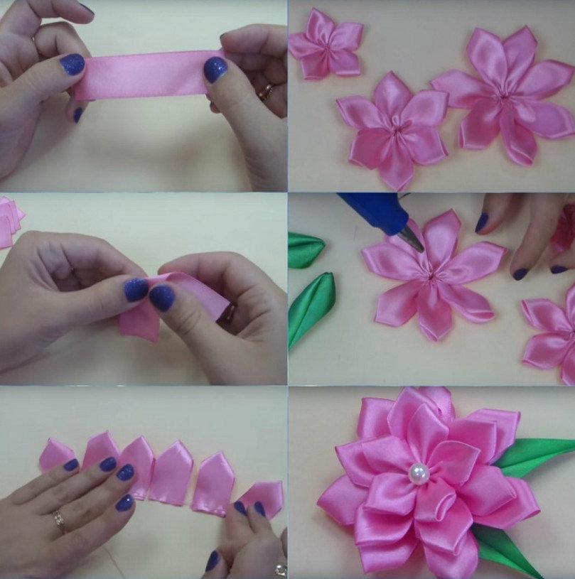 жилет цветы из лент как делать в картинках планы сегодняшнего дня