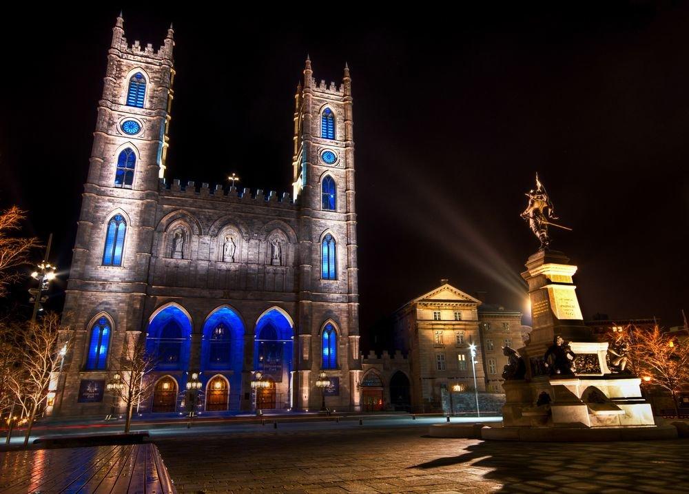 базилика нотр-дам де монреаль фото