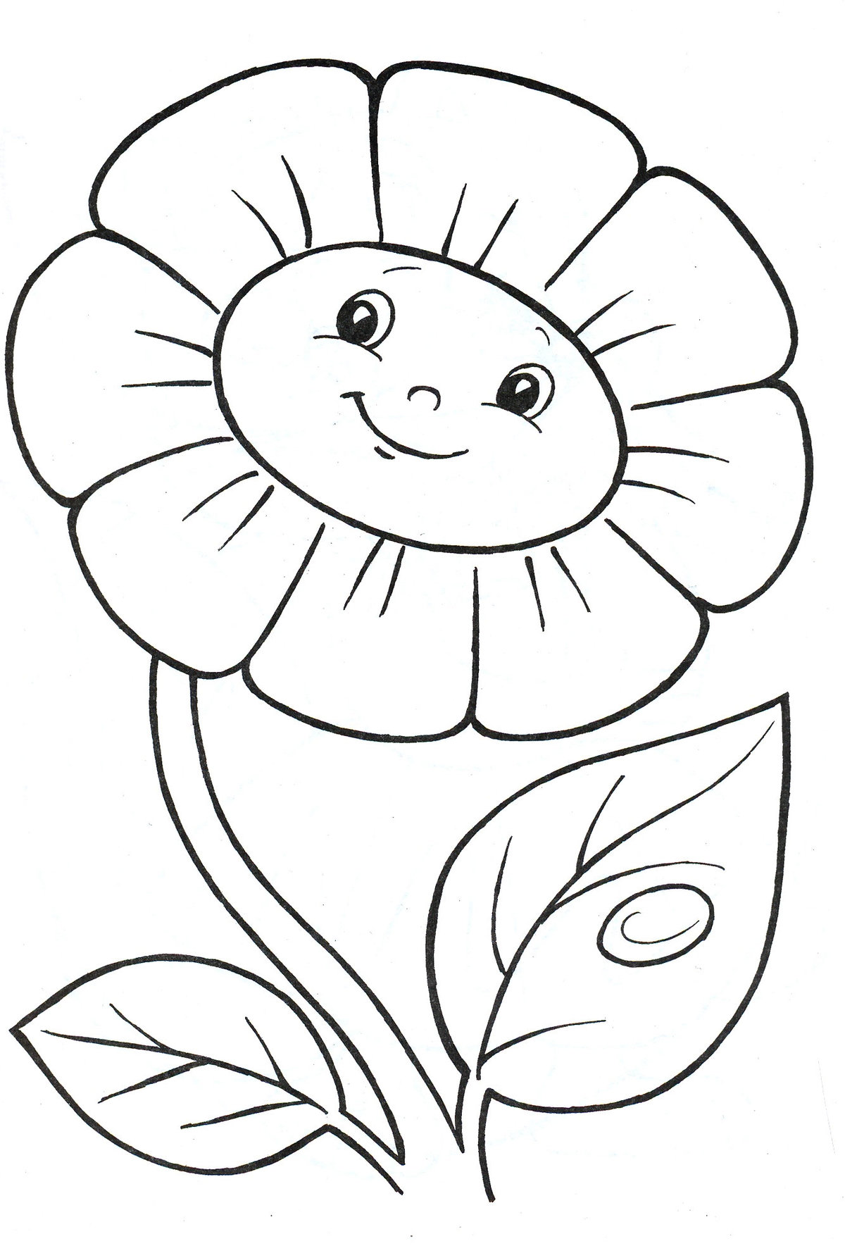 Раскраски цветы распечатать формат а4 для девочек, спокойной