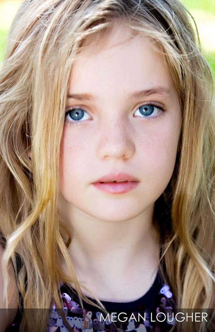 Little blonde girl models — 6