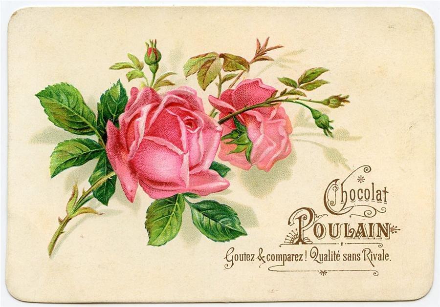 Открытки с цветами в стиле ретро, родным
