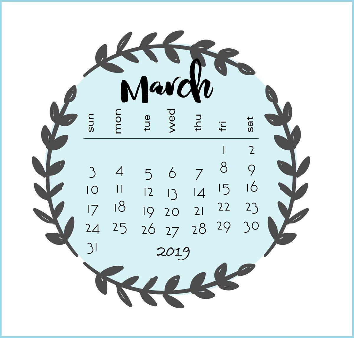 календарь на март с картинками своей работе