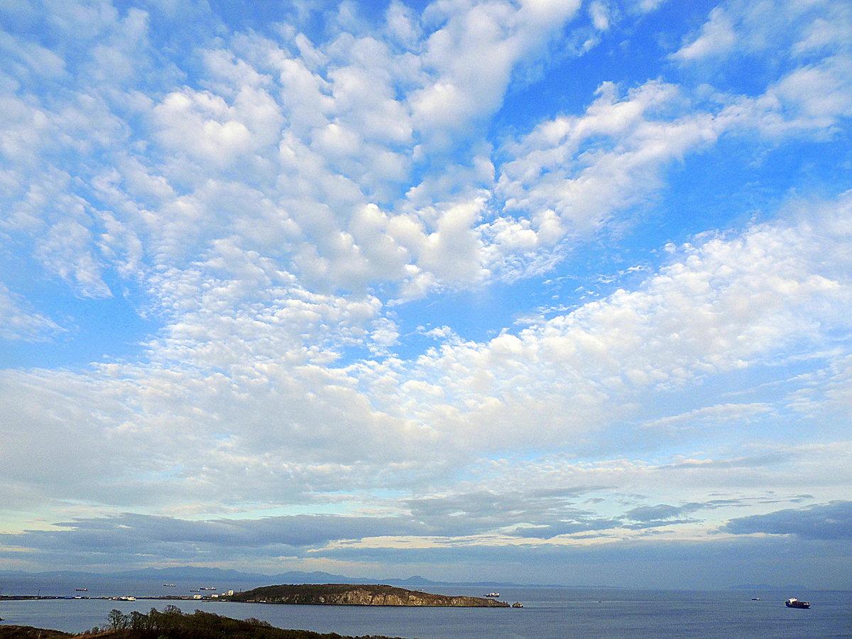 Перистые облака картинки