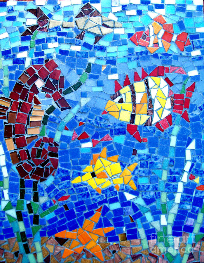 Картинки с мозаикой