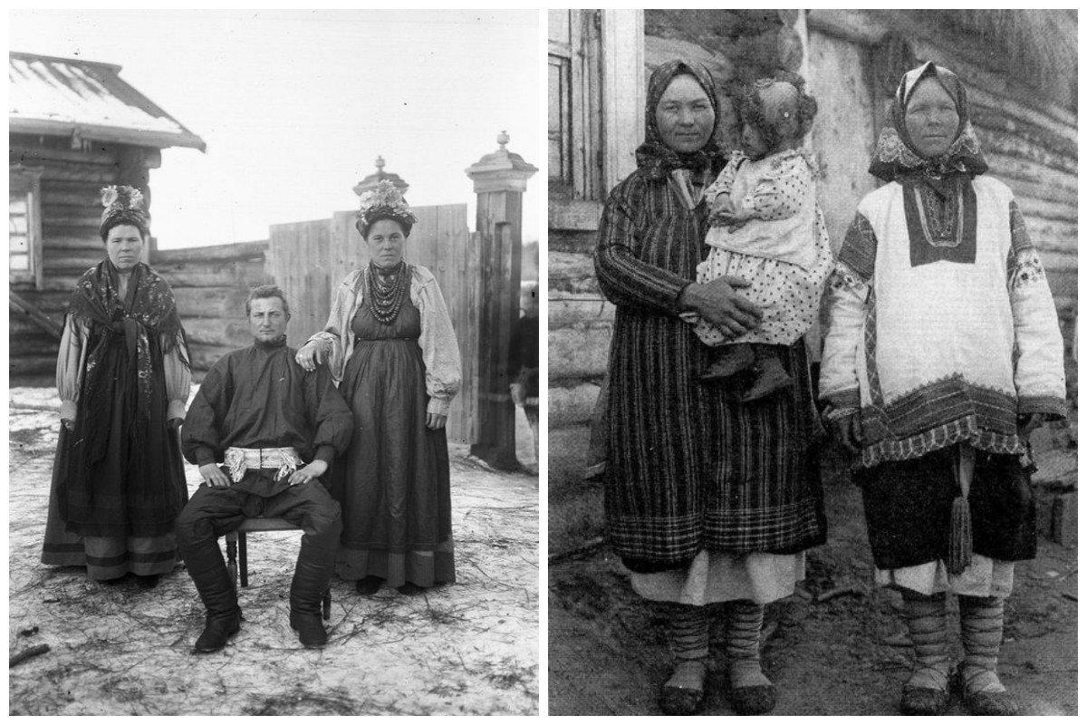 Старые фотографии крестьян цветоносы