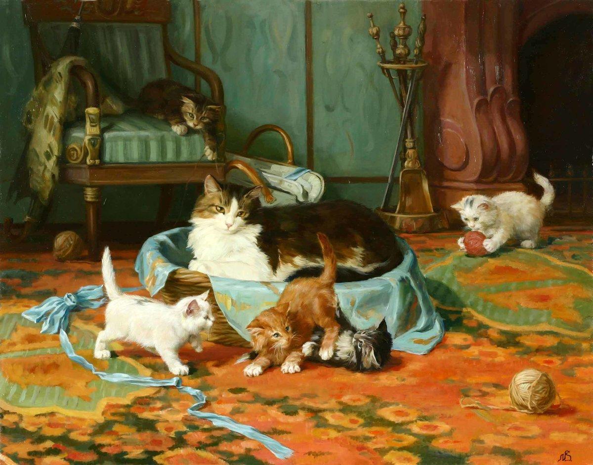 рассказ по картинке кошка с котятами средняя группа что финляндии президенты