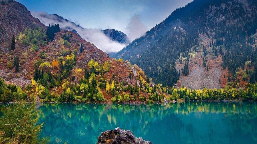 Рисунки красивых мест казахстана