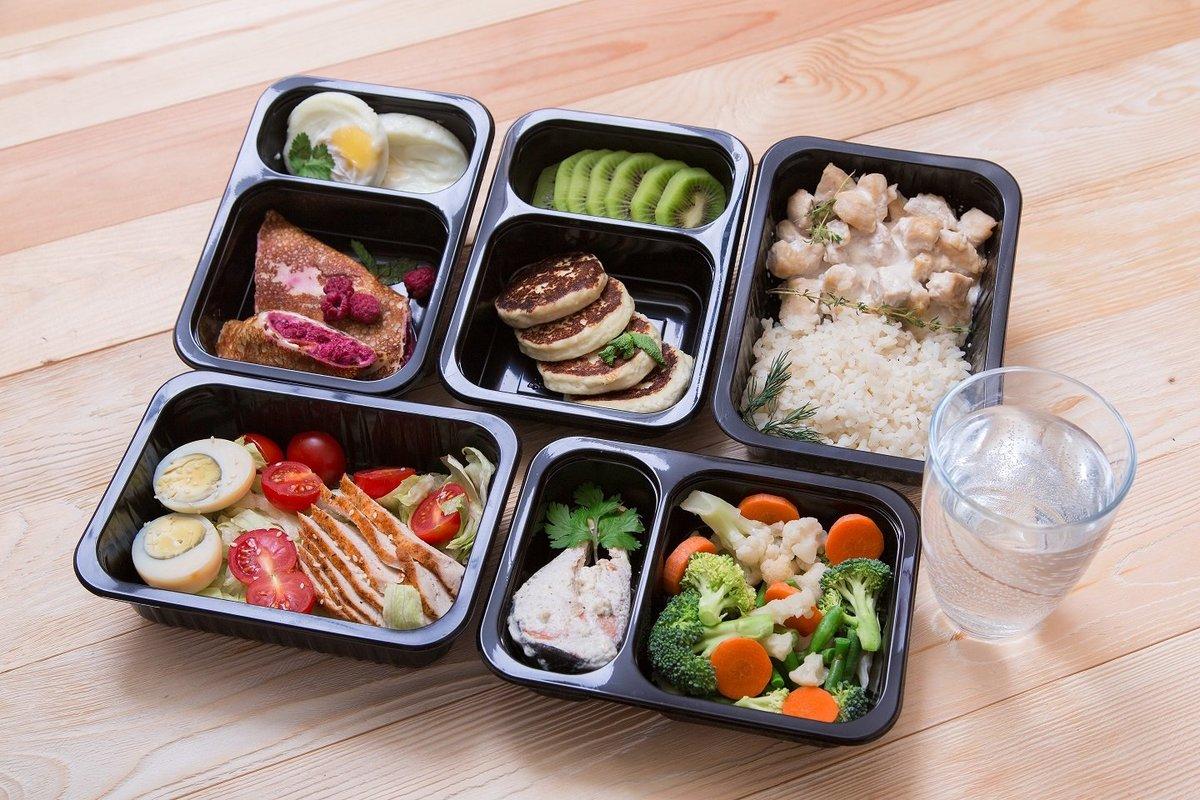 коробки еды для похудения