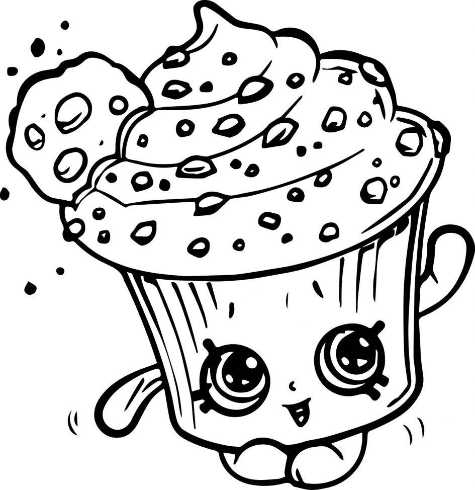 Картинки для разукрашивания мимими еда