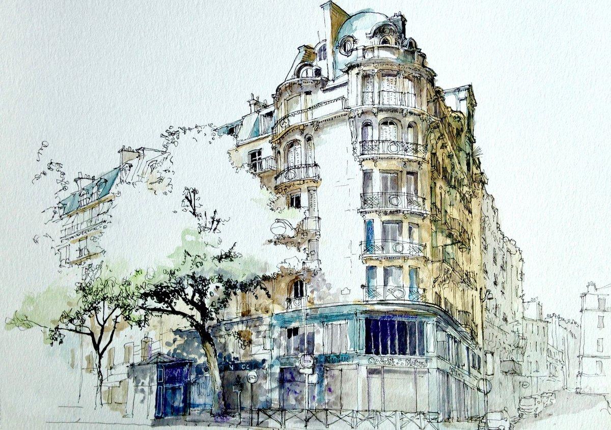Днем, открытки с городами и зданиями