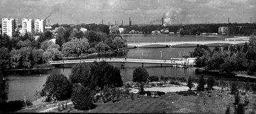 старые фото москвы с воробьёвых гор