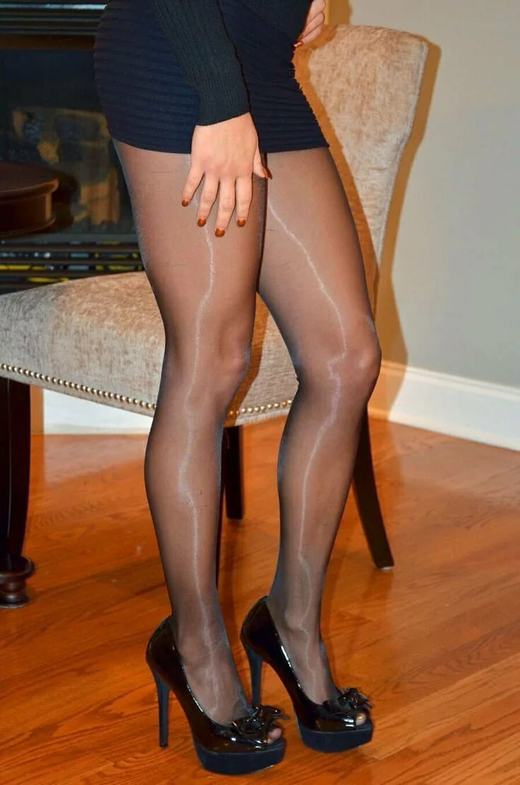 Pantyhose why nylon, black dude licking pussy