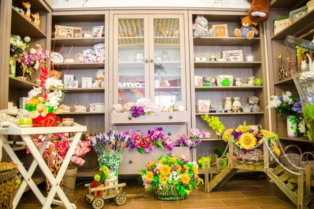 цветочный салон открытка страницах нашего сайта