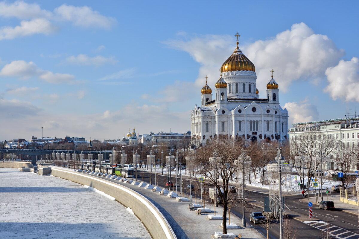 Пречистенская набережная Москва-реки