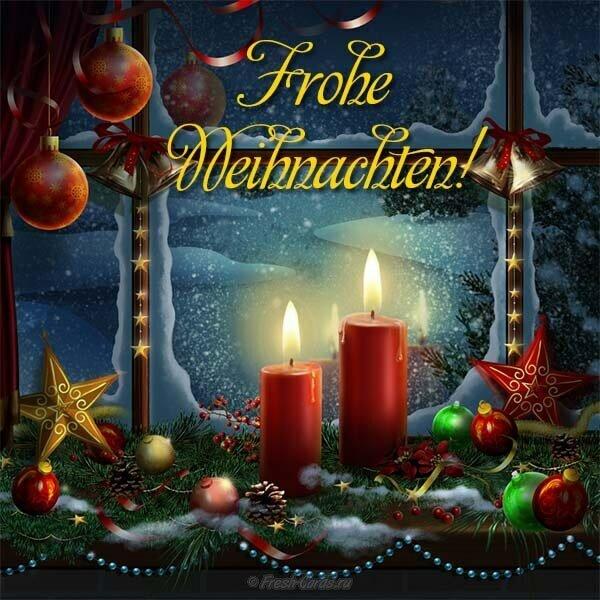 Днем рождения, поздравительная открытка на немецкой