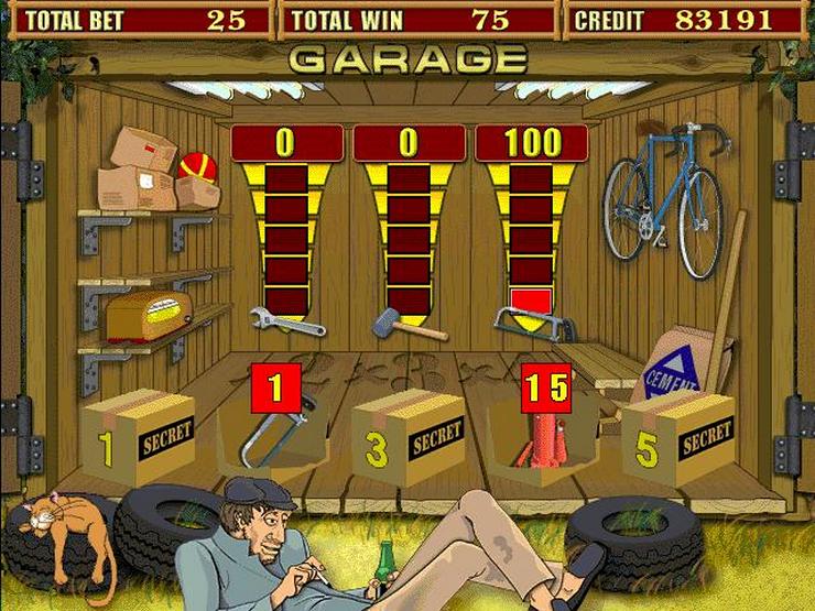 фото Игровые гараж казино автоматы бесплатно играть