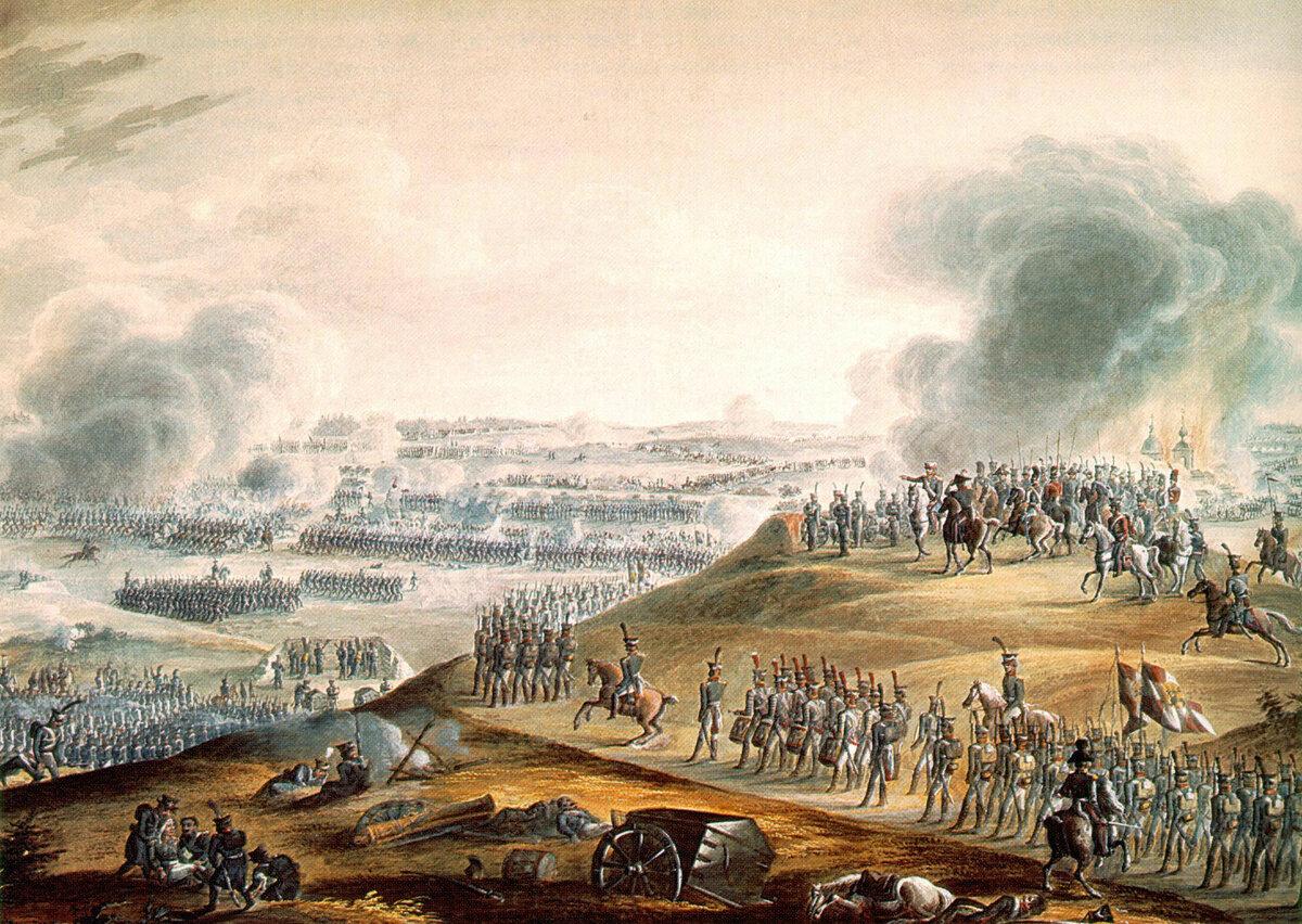 картинки начало бородинского сражения флорделис