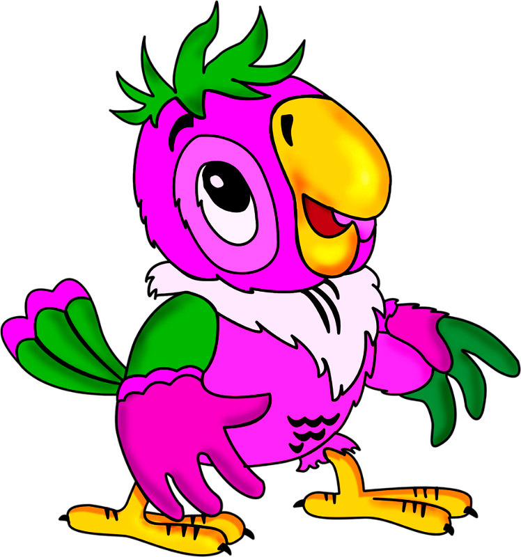 Голубика, картинки попугай кеша для детей