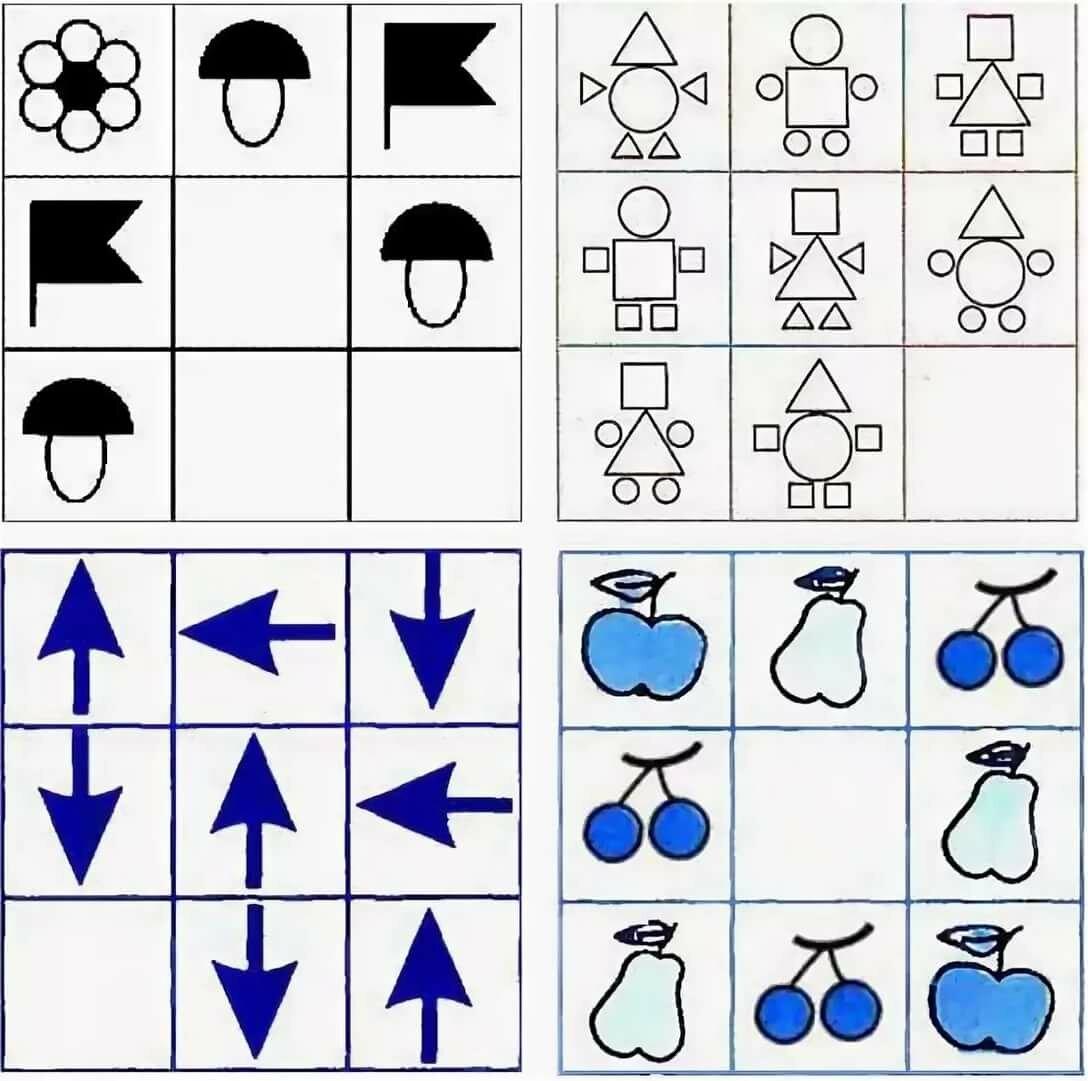 крути, логические игры четыре картинок перца клаудио