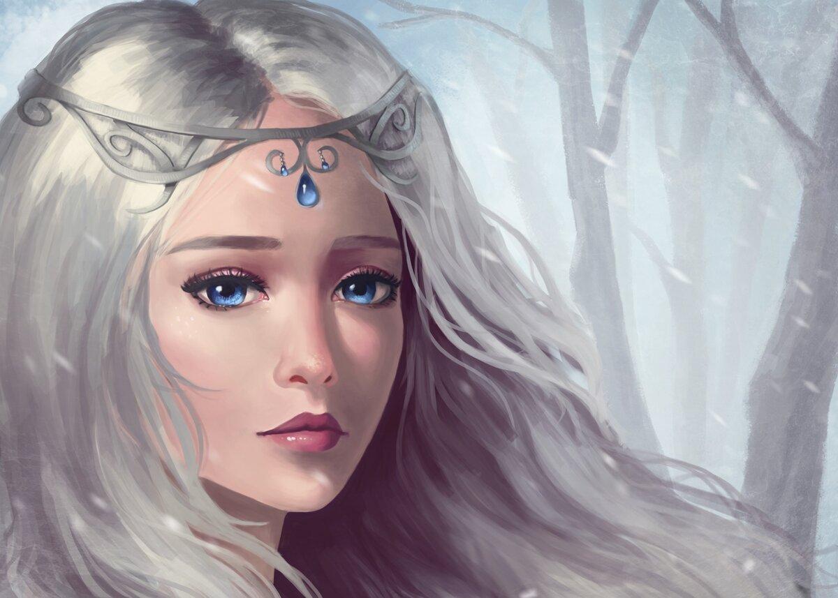 Днем, грустные и красивые картинки с эльфийскими девушками