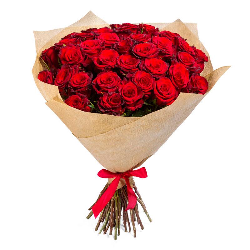 Красные роза букет купить киев
